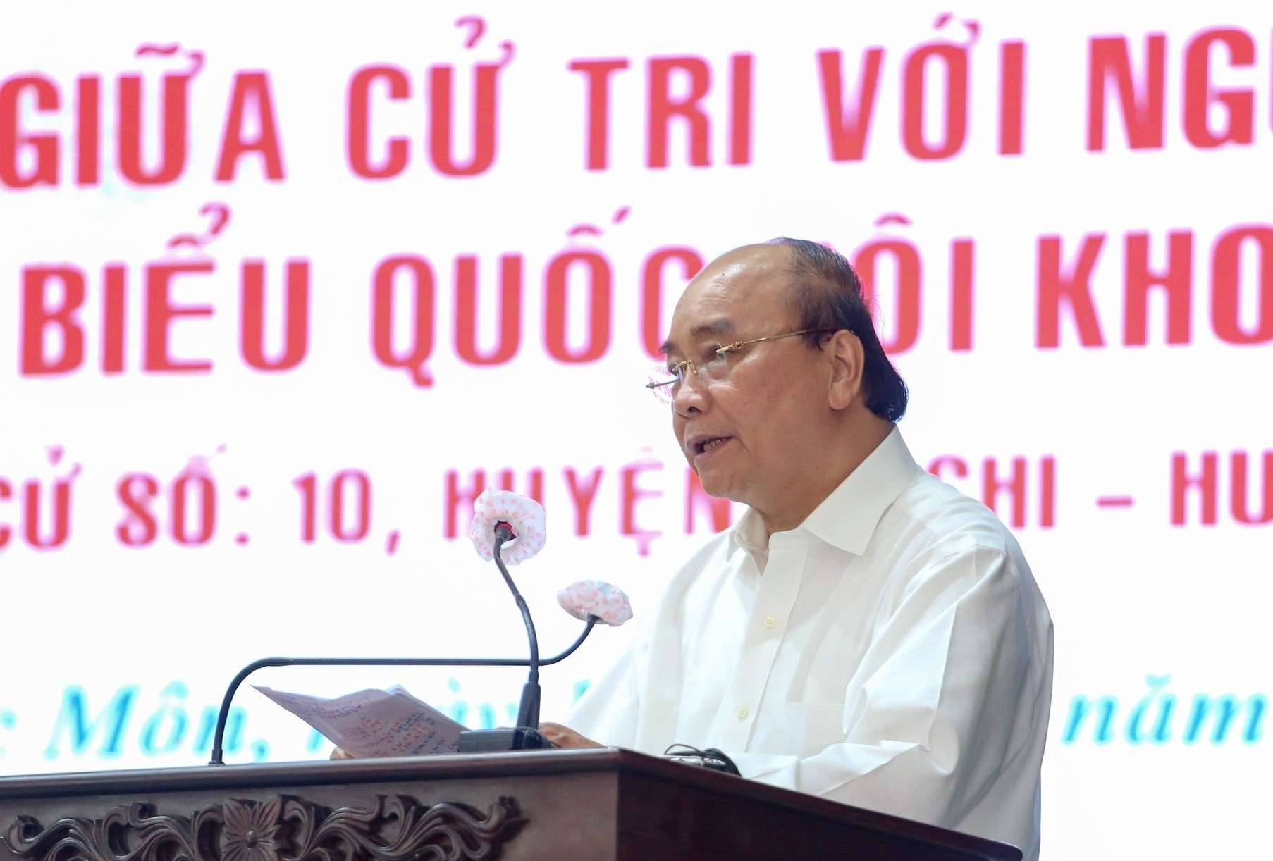 State president highlights aspiration for prosperous, powerful nation