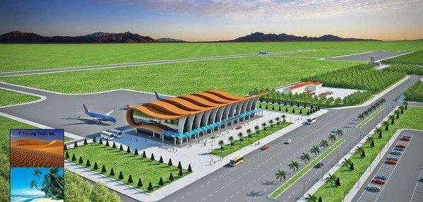 A perspective of the airport (Photo: thanhnien.vn)