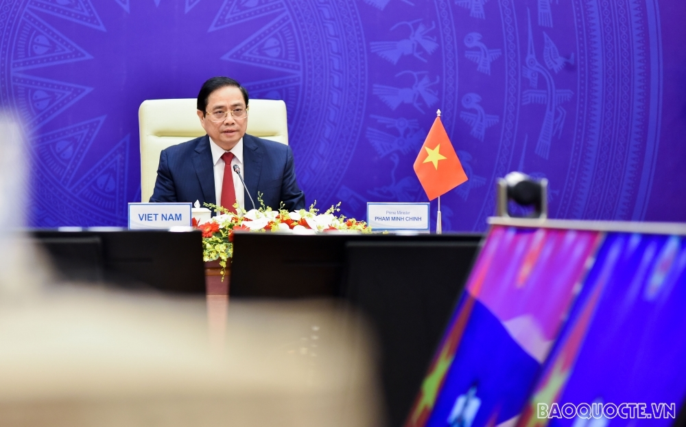 PM calls for cooperation framework in Asia to overcome pandemic