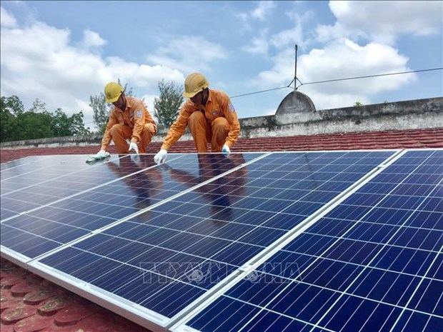 Vietnam now ranks seventh in the world in terms of capacity, according to clean energy research group BloombergNEF. (Photo: VNA)