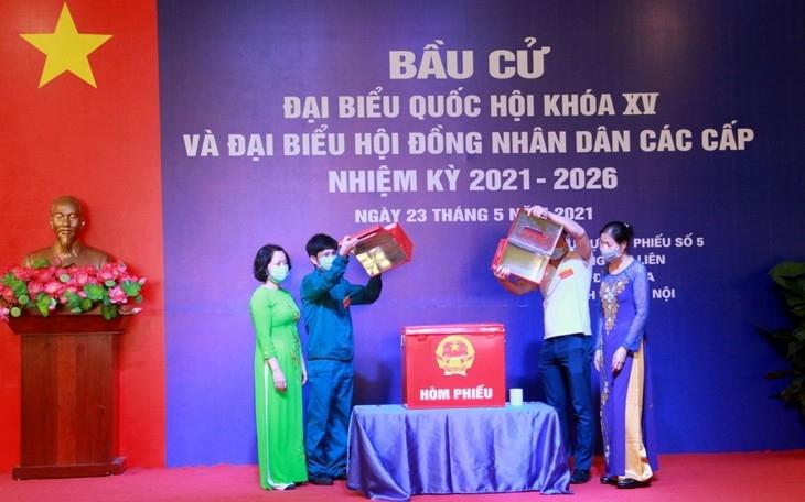 Elections demonstrate Vietnamese people's strength: top legislator
