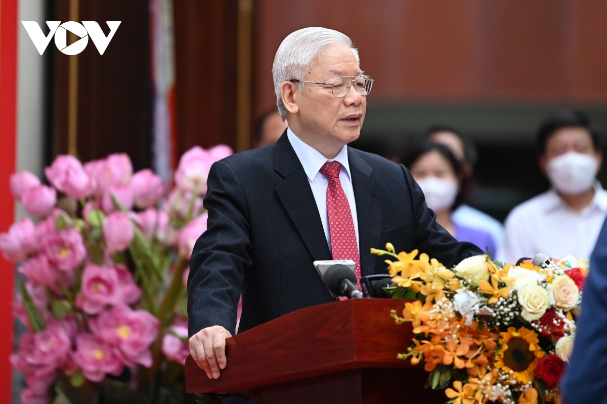 Party Secretary General highlights the significance of the election of new members to the 15th National Assembly (NA) and the all-level People's Councils.