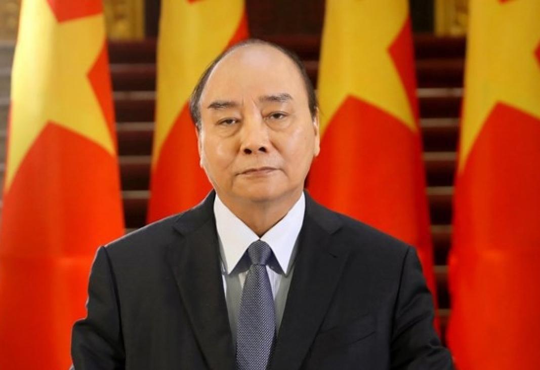 Vietnamese State President Nguyen Xuan Phuc. Photo: VGP