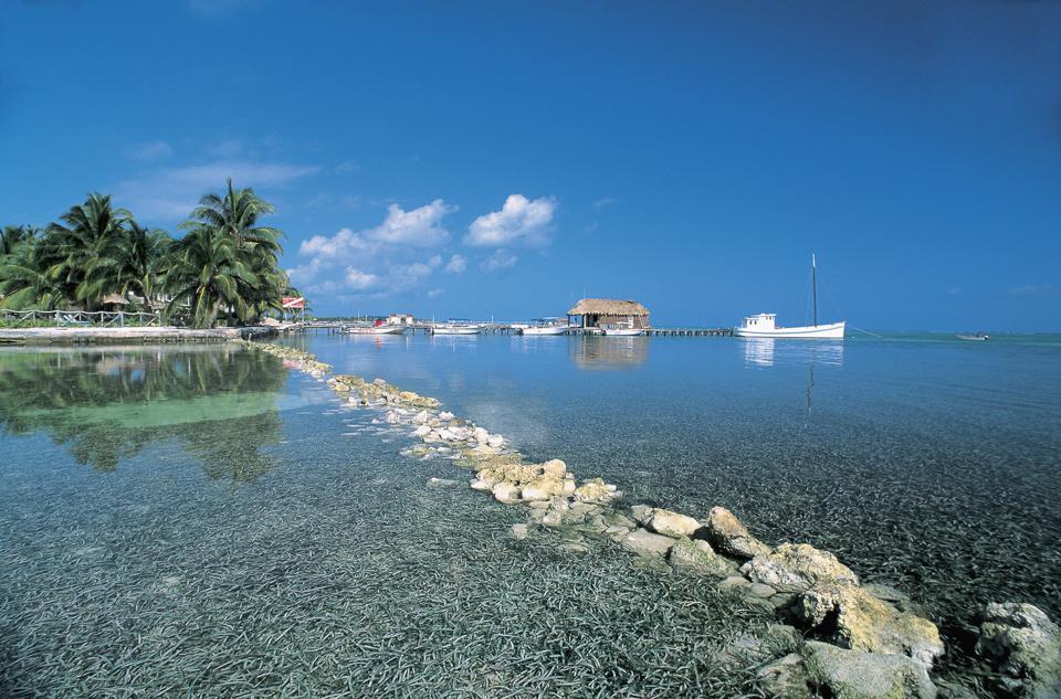 Belize - Ambergris Cay Island - San Pedro. DE AGOSTINI VIA GETTY IMAGES