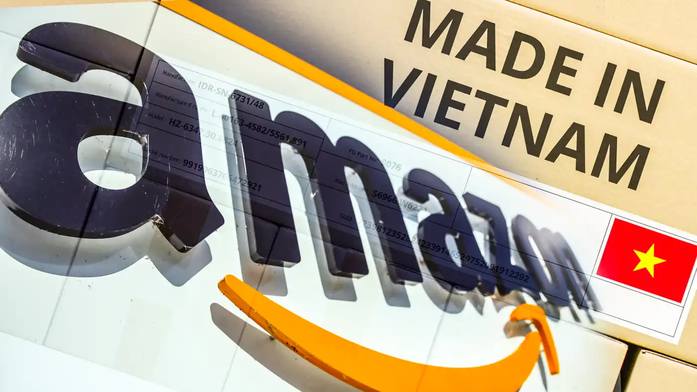 Amazon sellers in Vietnam are taking advantage of pandemic-fueled spending by customers in the U.S. and other overseas markets. (Source photo by Reuters)
