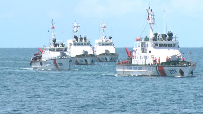 Coast Guard Region 4 holds tactical training programme