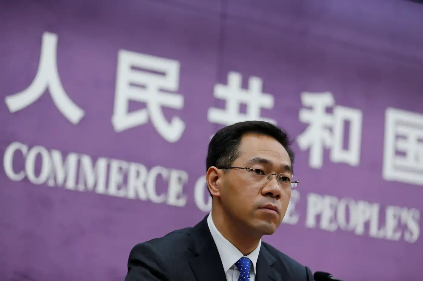 Gao Feng, a Chinese commerce ministry spokesman, said Beijing will appeal against Australian duties on Chinese railway wheels, wind towers and stainless steel sinks that date from 2014.   © Reuters