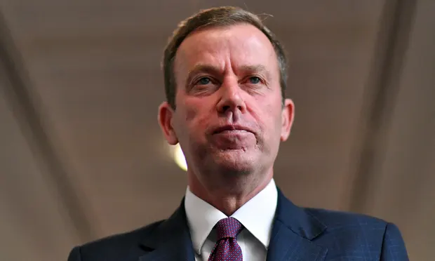 Trade minister Dan Tehan says Australia will 'vigorously defend' itself against China's complaint to the World Trade Organization. Photograph: Sam Mooy/Getty Images