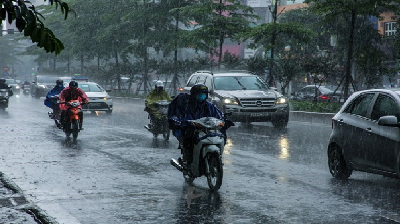 weather forecast jul 6 rainfall forecast to increase across vietnam in july