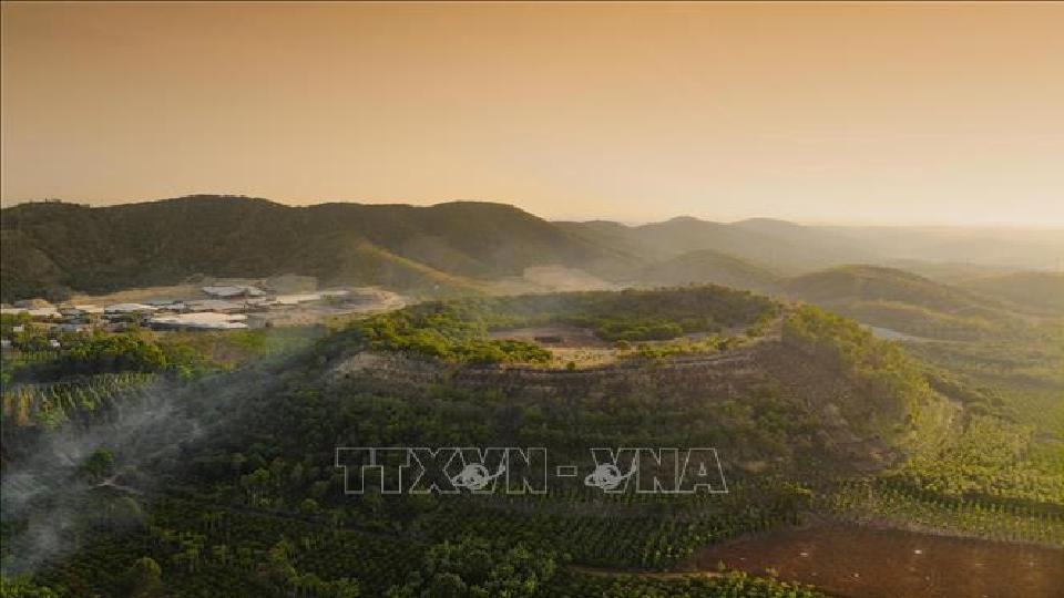 third vietnamese geopark wins global status