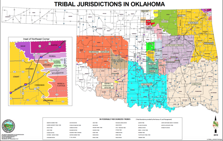 half of oklahoma is native american land supreme court