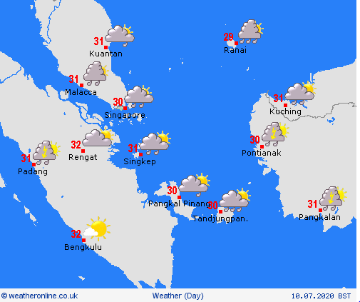 weather forecast for vietnam and asian countries this weekend