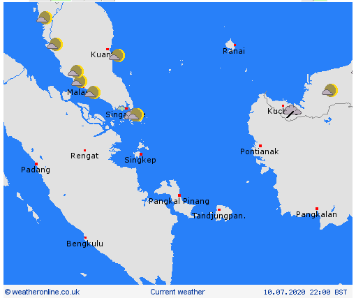 daily weather forecast for vietnam and asian countries july 13
