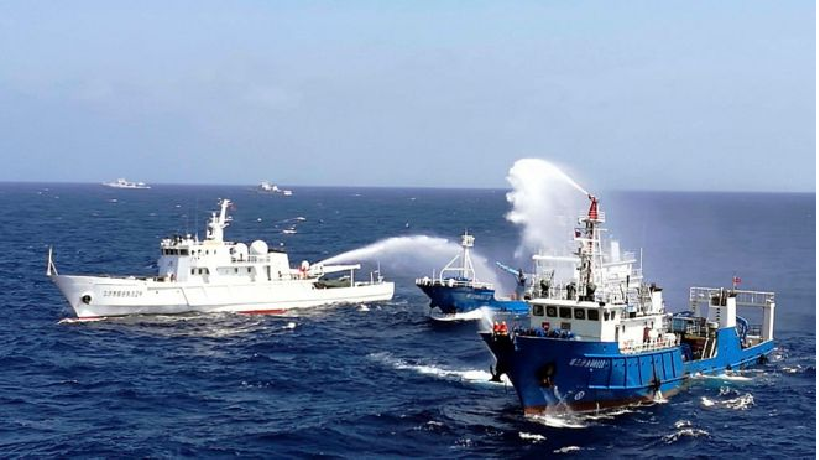 south china sea issue international consensus puts pressure on china