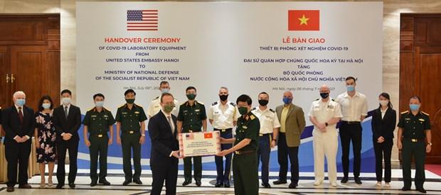 US Military Helps Vietnam Enhance Testing Capacity
