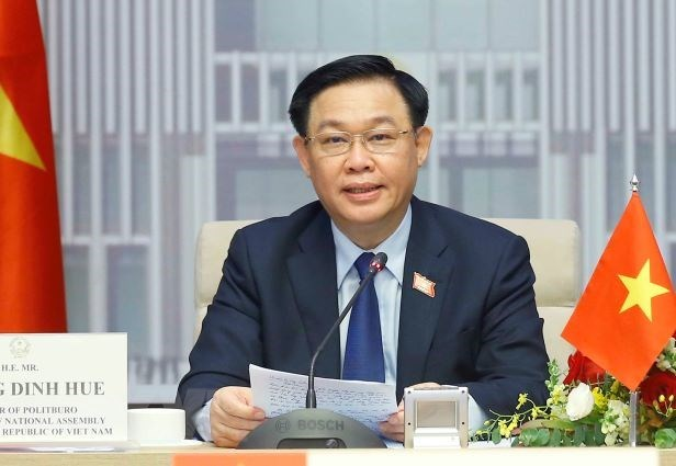 Chairman of the National Assembly of Vietnam Vuong Dinh Hue (Photo: VNA)