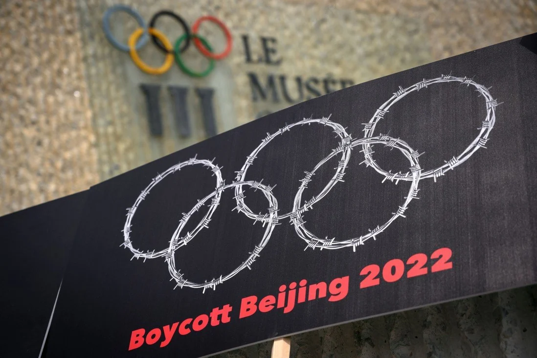 The motion calls for a diplomatic boycott of the Beijing Winter Olympics. Photo: AFP