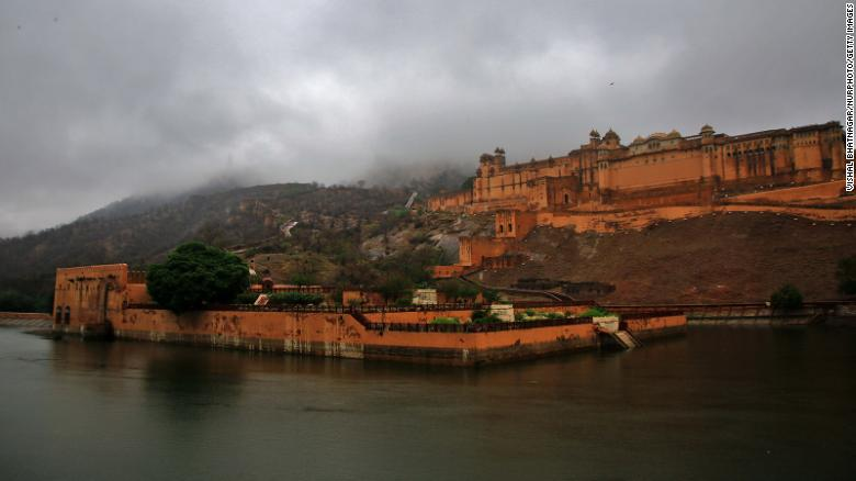 Amer Fort is a popular attraction in the city of Jaipur.