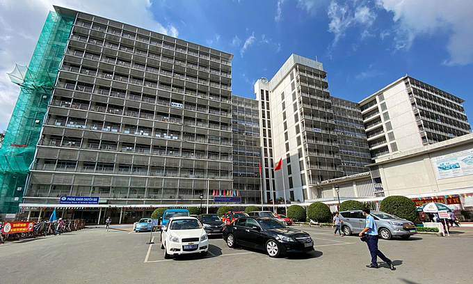 A view of Cho Ray Hospital, HCMC, July 2020. Photo by VnExpress
