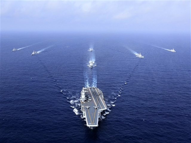 China announces naval drill in South China Sea (Bien Dong Sea)