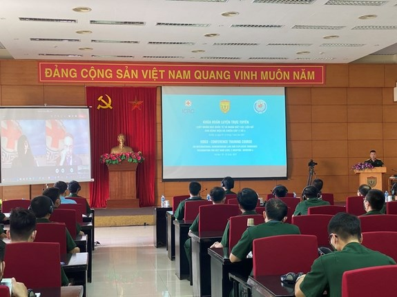 Vietnamese, Indian Level-2 Field Hospitals Launch Online Refresher Course