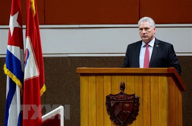 irst Secretary of the Communist Party of Cuba (PCC) Central Committee and President of Cuba Miguel Díaz-Canel Bermudez (Photo: AFP/VNA)