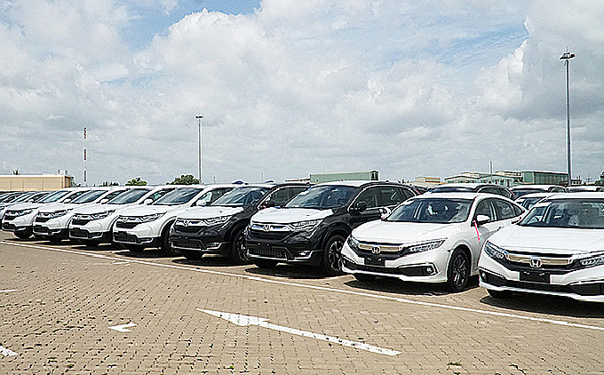 majority of vietnams imported cars come from thailand