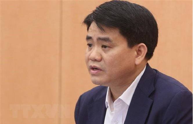 hanoi mayor nguyen duc chung suspended from work for 90 days