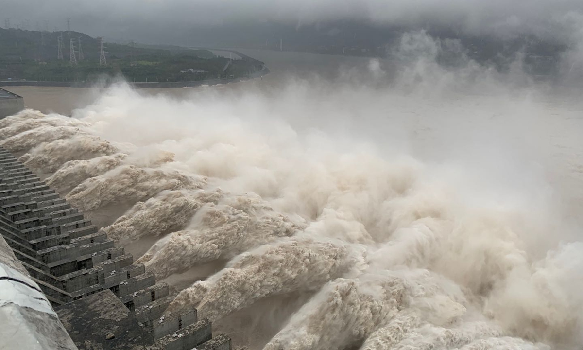 Massive flooding in China: World's largest hydroelectric dam ushers in largest flood peak