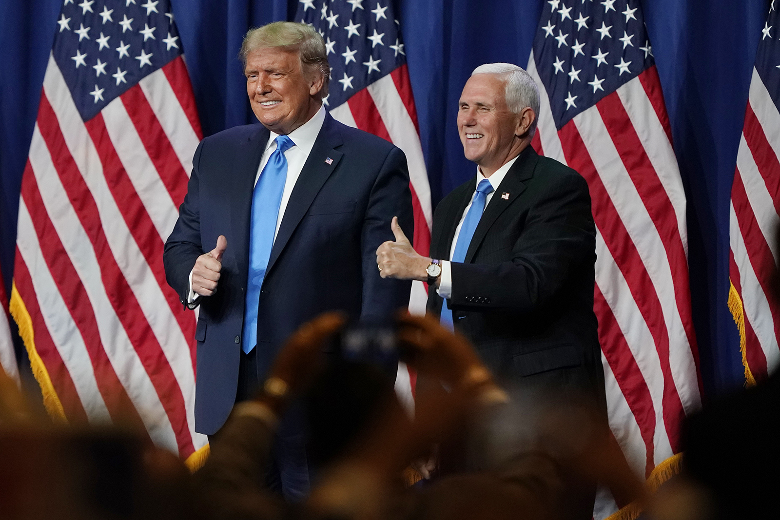 trump renominated as republican presidential candidate calls for 12 more years in office