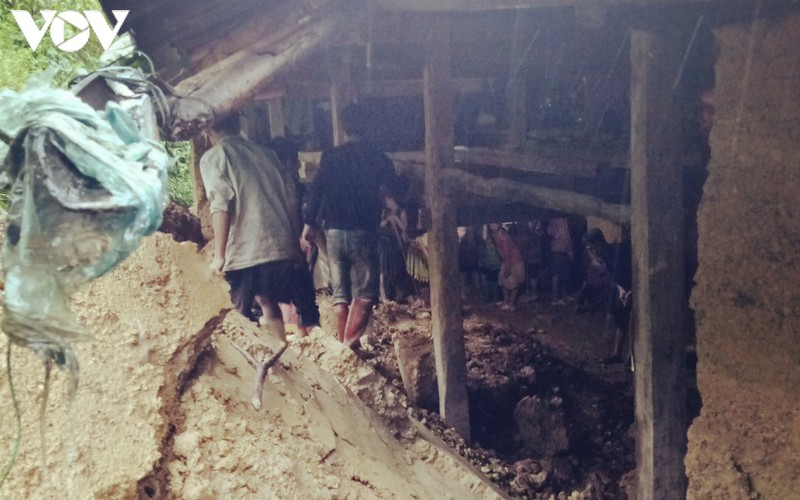 heavy rain causes wall collapse in northern mountainous province killing one