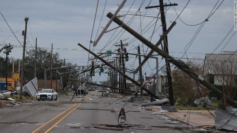 Hurricane Laura kills 4, smashes parts of Louisiana and Texas