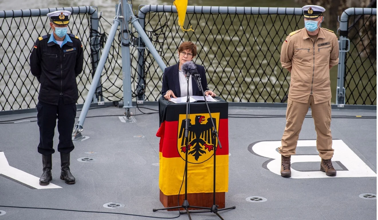German Warship to Cross South China Sea (Bien Dong Sea) for First Time since 2002
