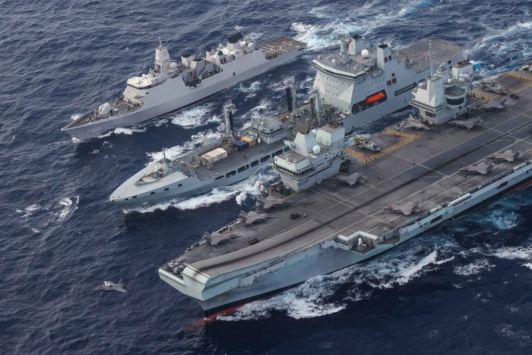 The flotilla's mission will continue until the end of the year. Photo: Twitter