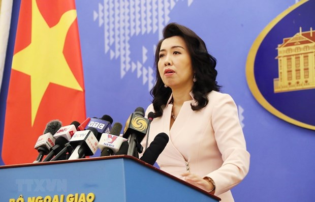The Foreign Ministry's spokesperson Le Thi Thu Hang (Source: VNA)