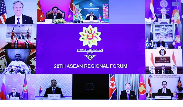 US, Japan Express Concern Over South China Sea (Bien Dong Sea) at ASEAN Forum