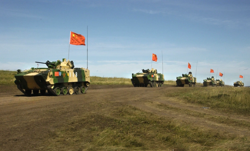 File photo: Chinese and Russian military forces are engaged in joint exercises through Friday, Aug. 13, 2021, in northwestern China as ties grow between the two autocratic states.