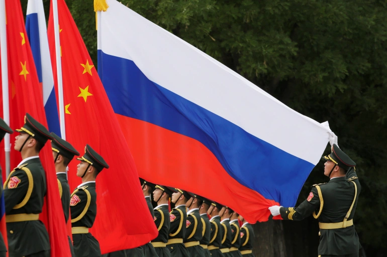 Russia, China Hold Large-Scale Joint Military Drills