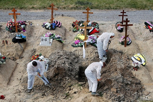Russia Reports Record-High Covid-19 Deaths to Date