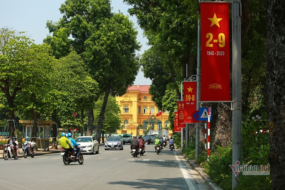 vietnam weather hanoi celebrates national day under scorching heat