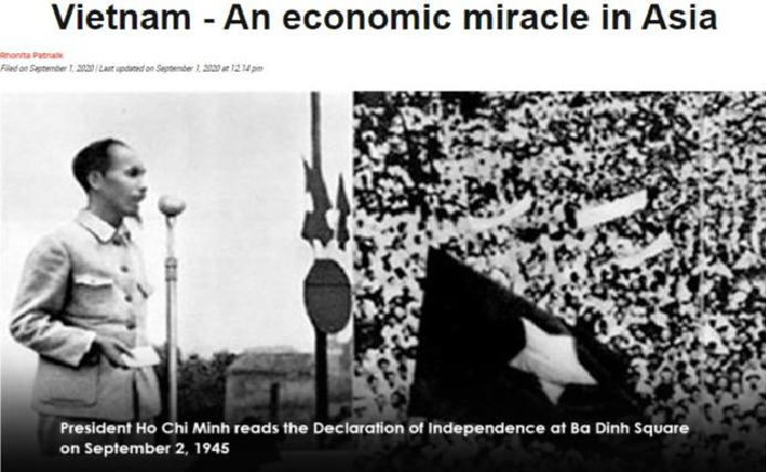 UAE's Khaleej Times lauds Vietnam as economic miracle in Asia