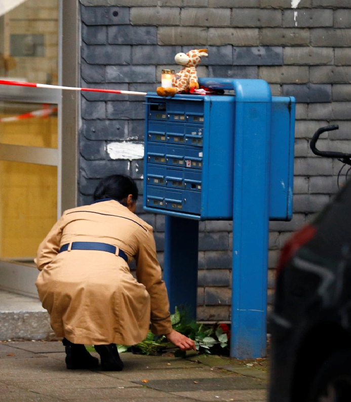 mother suspected of killing five children in germany tried to kill herself