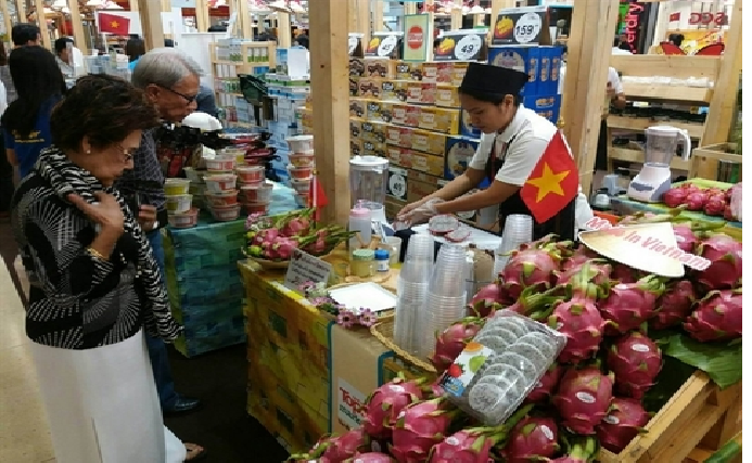 made in vietnam goods promoted in japans top largest supermarket chain