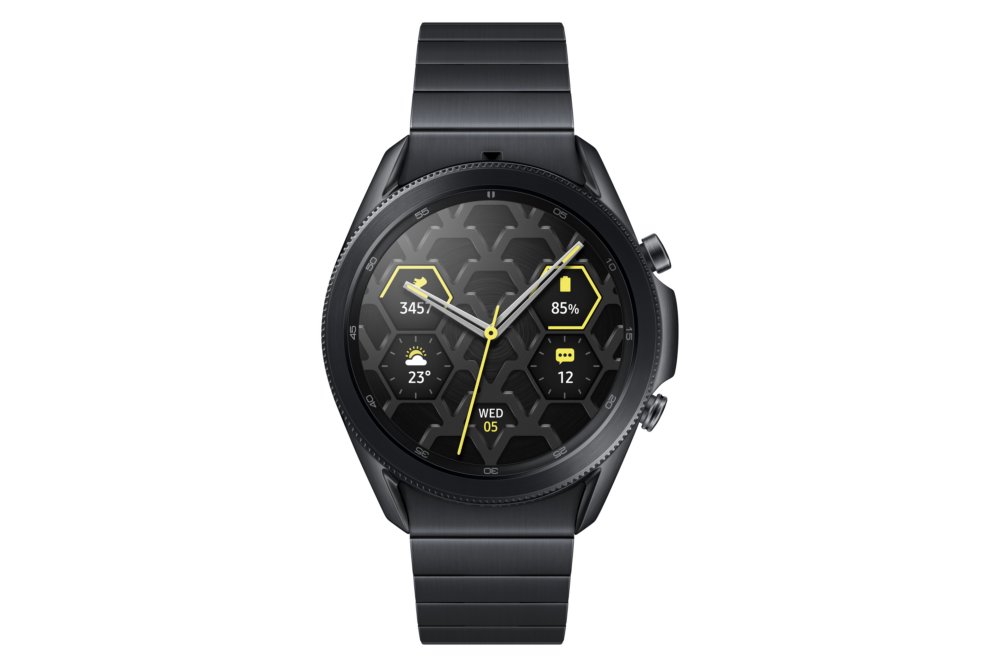 samsungs galaxy watch 3 comes in a us 600 titanium model