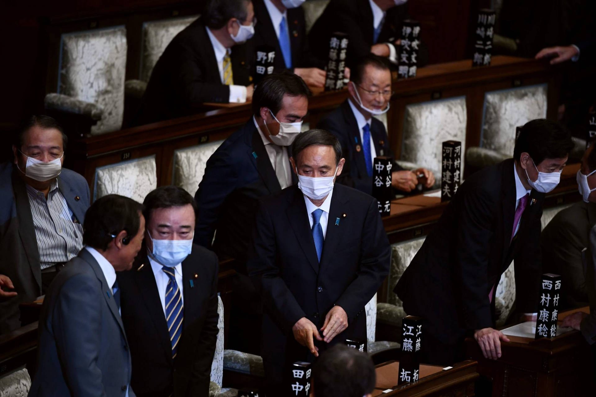 yoshihide suga officially named as japans new prime minister replacing shinzo abe
