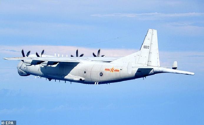 taiwan president calls chinas sending warplanes a threat
