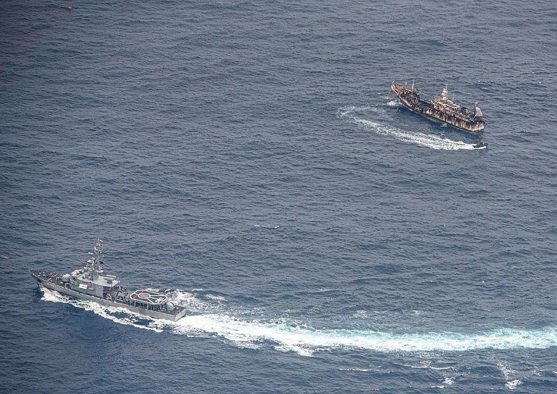 chinese fishing fleet off peru sparks washington beijing twitter war