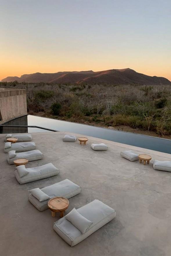Pool at Paradero, Mexico