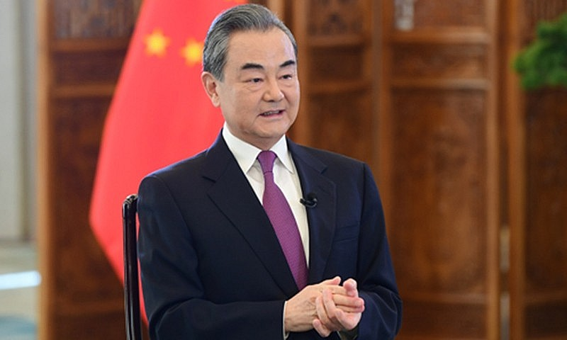 China's State Councilor and Foreign Minister Wang Yi
