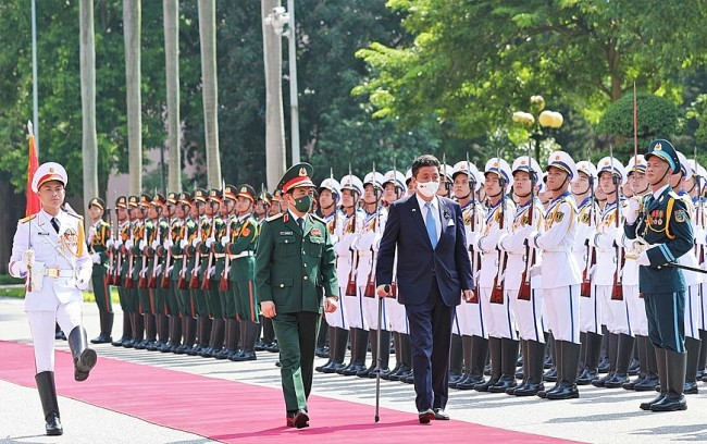 """Vietnam-Japan Defence Cooperation Reaching """"New Level"""""""